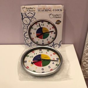 Teacher's Choice Easy to Learn Teaching Clock